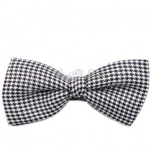 Black and White Fancy Bow Ties For Sale in UK