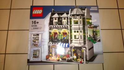 Lego  Star Wars,Lego ultimate falcon 10179,Lego Green Grocer,Lego Market Street,Lego Cafe Corner