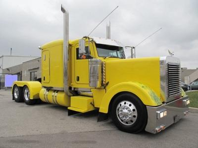 2007 Peterbilt 379EXHD Yellow
