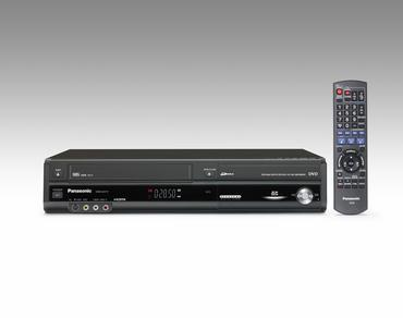 DVD and VHS Recorder with two way dubbing