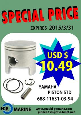 Special Price for YAMAHA Outboard Piston 688-11631-03-94