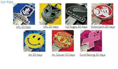 Sculptured 3D Car Keys and Products in Perth Krazy