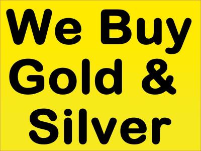 I Will Buy Your Gold/Silver/Platinum Items