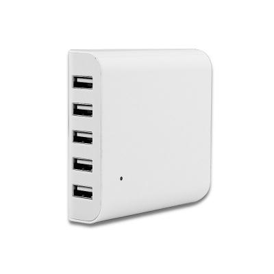 5-Port Family-Sized Desktop USB Smart Charger Universal 40W 5V 8A