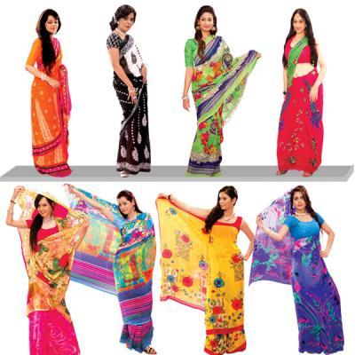 Manbhawan Eight Sarees Combo Offer Call At 09212600900