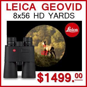 Save $1350 Leica Geovid 8x56 HD Yards Binocular on this Easter Sale 2015