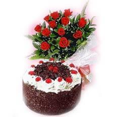 Anniversary cake to Delhi