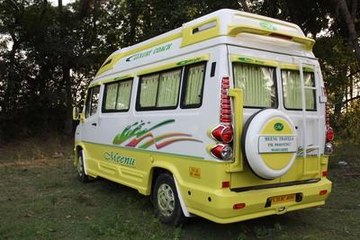Luxury Tempo Travelle on Rent
