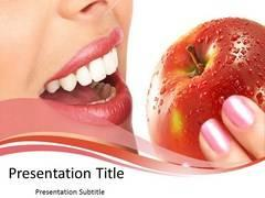 Online Latest Design Tooth PowerPoint Template