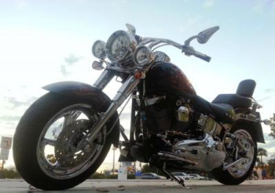 2008 Harley-Davidson Softail - $3000