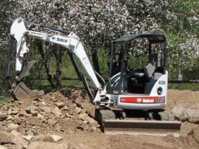 2006 Bobcat 430 mini excavator - $5000