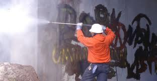 Hire Professional Graffiti Remover at Colby Window Solutions