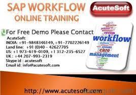 SAP Workflow | Online SAP Workflow training