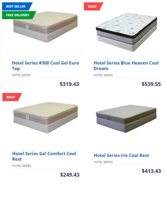 Hotel Series - Mattresses on whole sale prices at Ontario | Worldwide Mattress Outlet