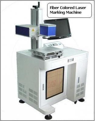 Colored Fiber Laser Marking machine (LASER SOURCE GERMANY)