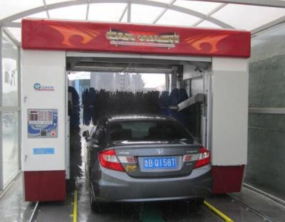 Automatic car washing machine and car washer