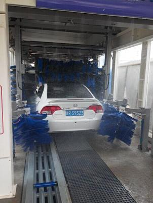 Automatic automated auto washing vehicle car wash machine equipment