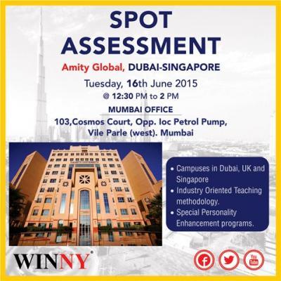 AMITY UNIVERSITY - Meet the Representative at Mumbai