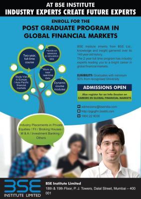 Post Graduate Program in Global Financial Markets