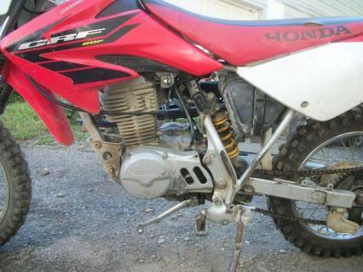 2004 Honda CRF 80 F 4 stroke - $900