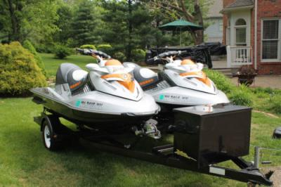 Pair of 2008 Sea-Doo RXT 255 - $4000