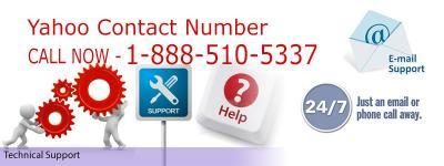 Yahoo Contact Number 1-888-510-5337