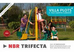 30*40 measuring villa plots available in NBR Trifecta, for more details call – 8088678678