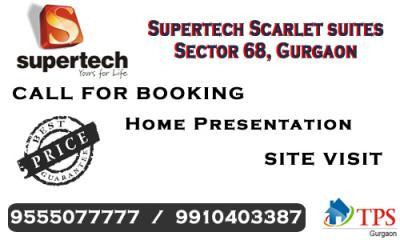 Supertech Scarlet Suites New Project @ 9555077777