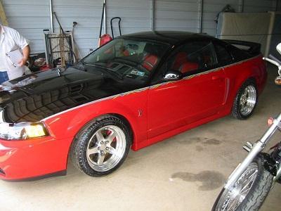 2003 Ford Mustang Cobra 10th Anniversary