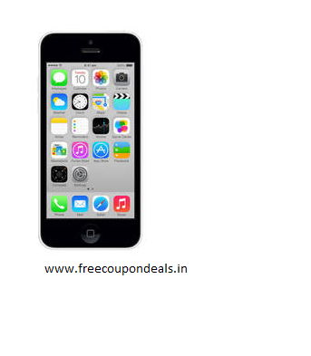Get 45% OFF on Apple iPhone 5C 8 GB (White)