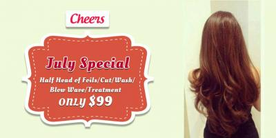 Cheer Salon's July Special Offer