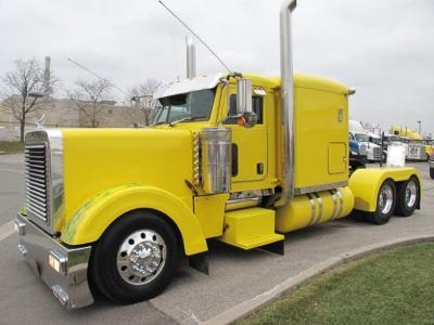 2007 Peterbilt 379EXHD Yellow