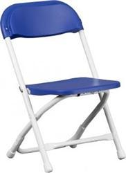 Folding chairs tables larry - Kids Blue Folding Chair