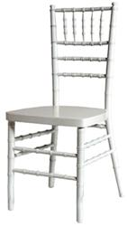 WHITE CHIAVARI CHAIRS - larry hoffman