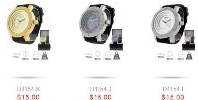 Hip Hop Diamond Watches