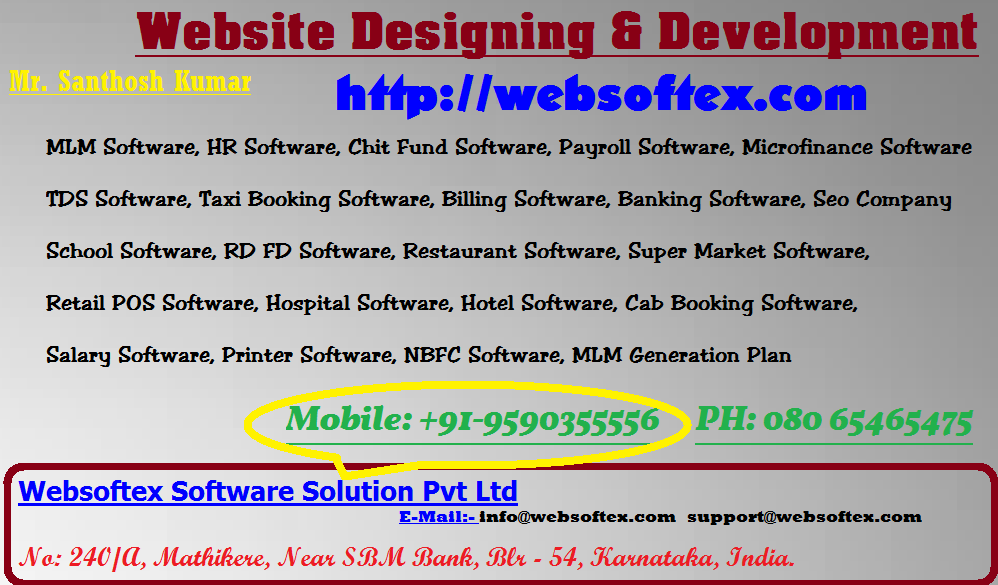 Gift Software, Printer, HR Software, Android Application, Chit Fund & MLM