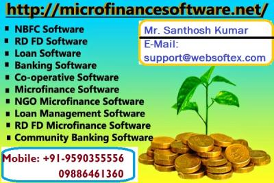 Microfinance, Core Banking, Co-Operative, NBFC, RD FD, Loan, Mortgage
