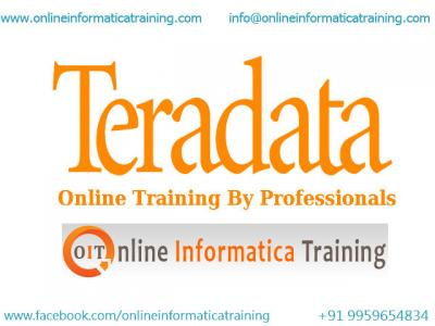 Online Teradata Training Implemented by Expert Trainers