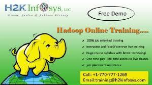 Big Data Online Training Course