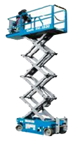 Hire terrain Scissor Lift from Brisbane Scissor Lift Hire at Affordable Price