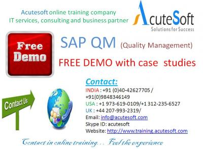 SAP QM | Online SAP QM training