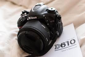 F/s....Nikon D610 24MP Digital SLR Camera