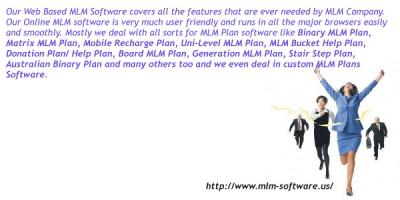 MLM Plan Software with free demo inside