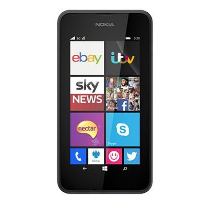 Nokia Lumia 530 (Silver-67021)