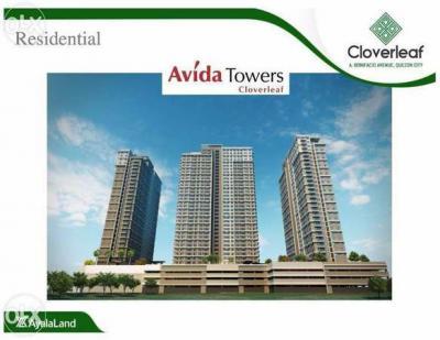 pre selling 2 BR condo Avida Tower Cloverleaf Balintawak Quezon City