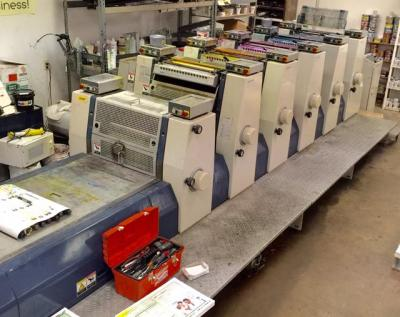 Buy Used 2000 Komori L520+LX Machine