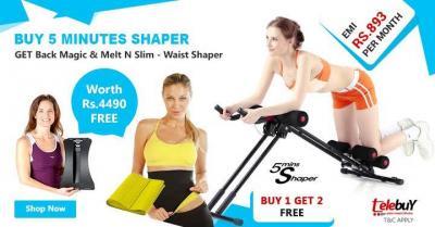 Buy 1 Get 2 Free Buy 5 Minutes Shaper Get Back Magic & Melt N Slim
