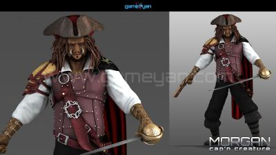 Hire GameYan Studio For Character Animation Modeling and Rigging Services