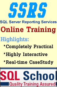Complete Practical Online Training on SQL Business Intelligence at SQL School