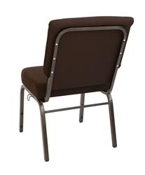 "Larry Hoffman Chair Presenting Brown 21"" Chapel Chair"